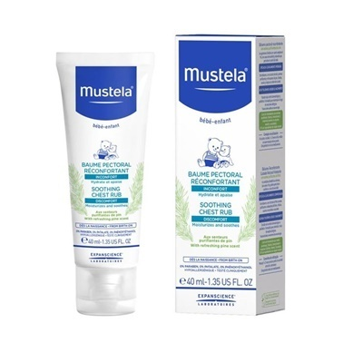 Mustela Soothing Chest Rub 40ml Renksiz
